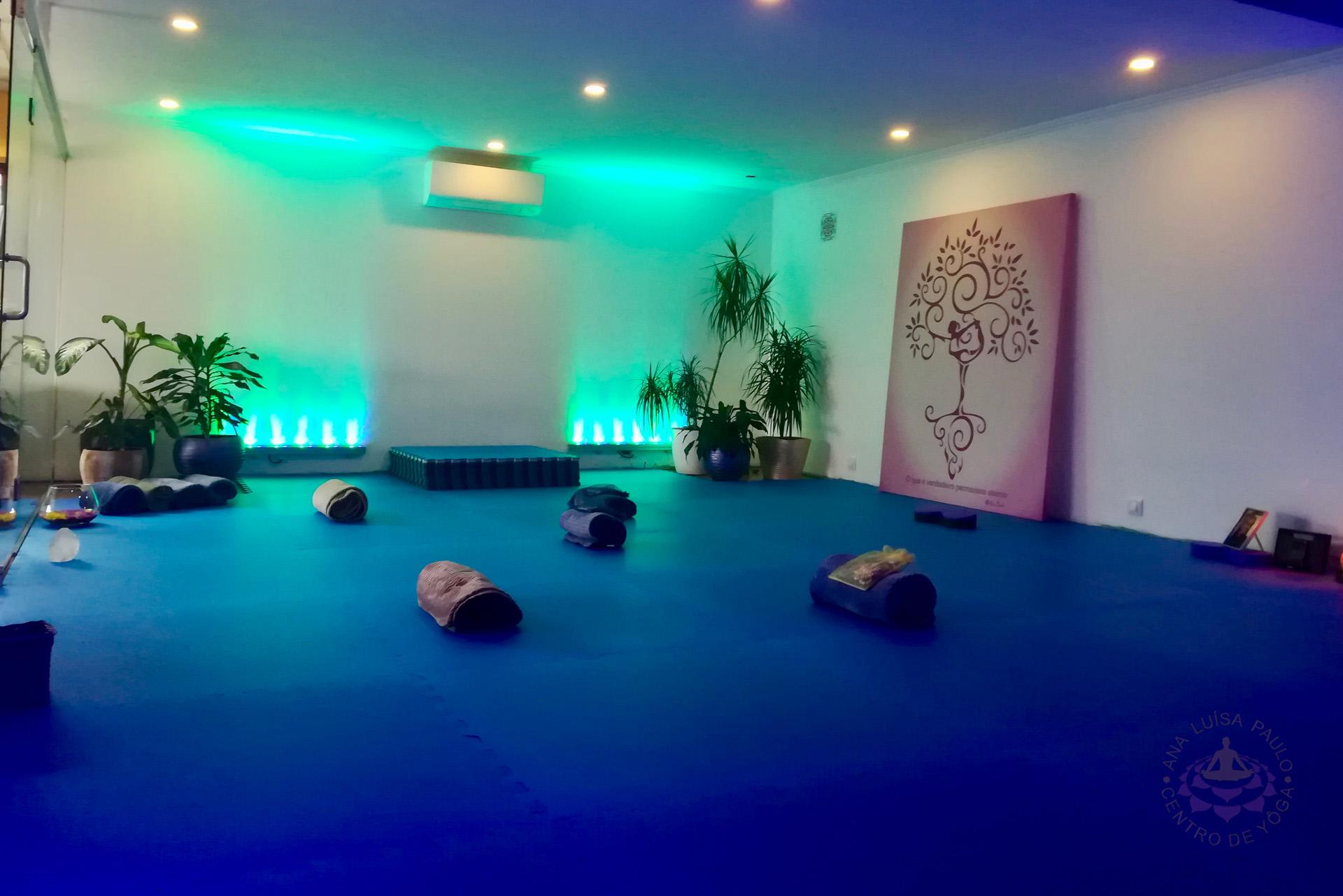 Sala de Prática - Ana Luísa Paulo - Centro de Yôga