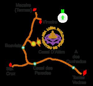 Mapa - Ana Luísa Paulo - Centro de Yôga